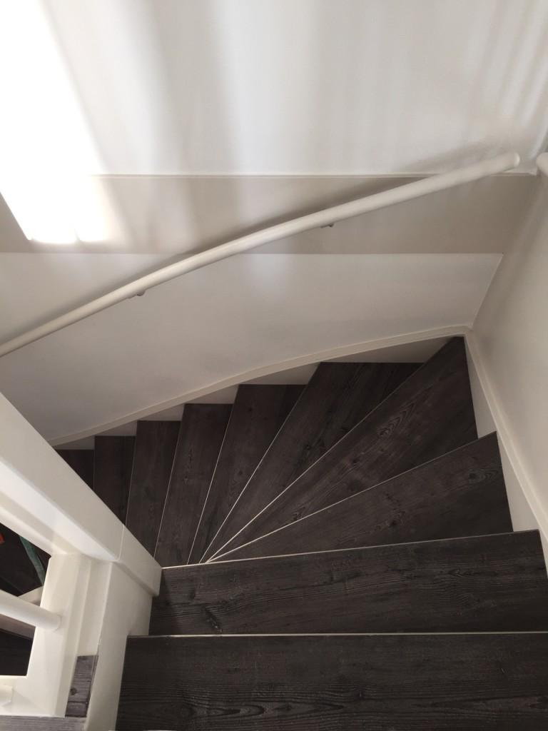 PVC vloer traprenovatie